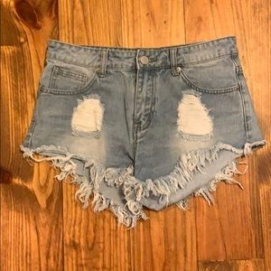 Denim Cutoff Shorts